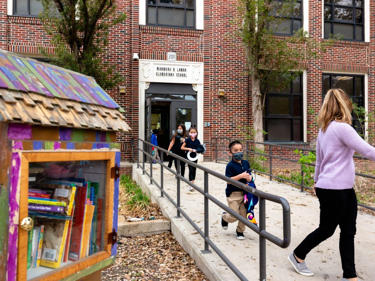 Lamar Elementary School is one of 21 campuses in SAISD that will undergo a full renovation in the main building. SAISD voters passed a $1.21 billion bond in 2020 to refurbish campuses in the district.
