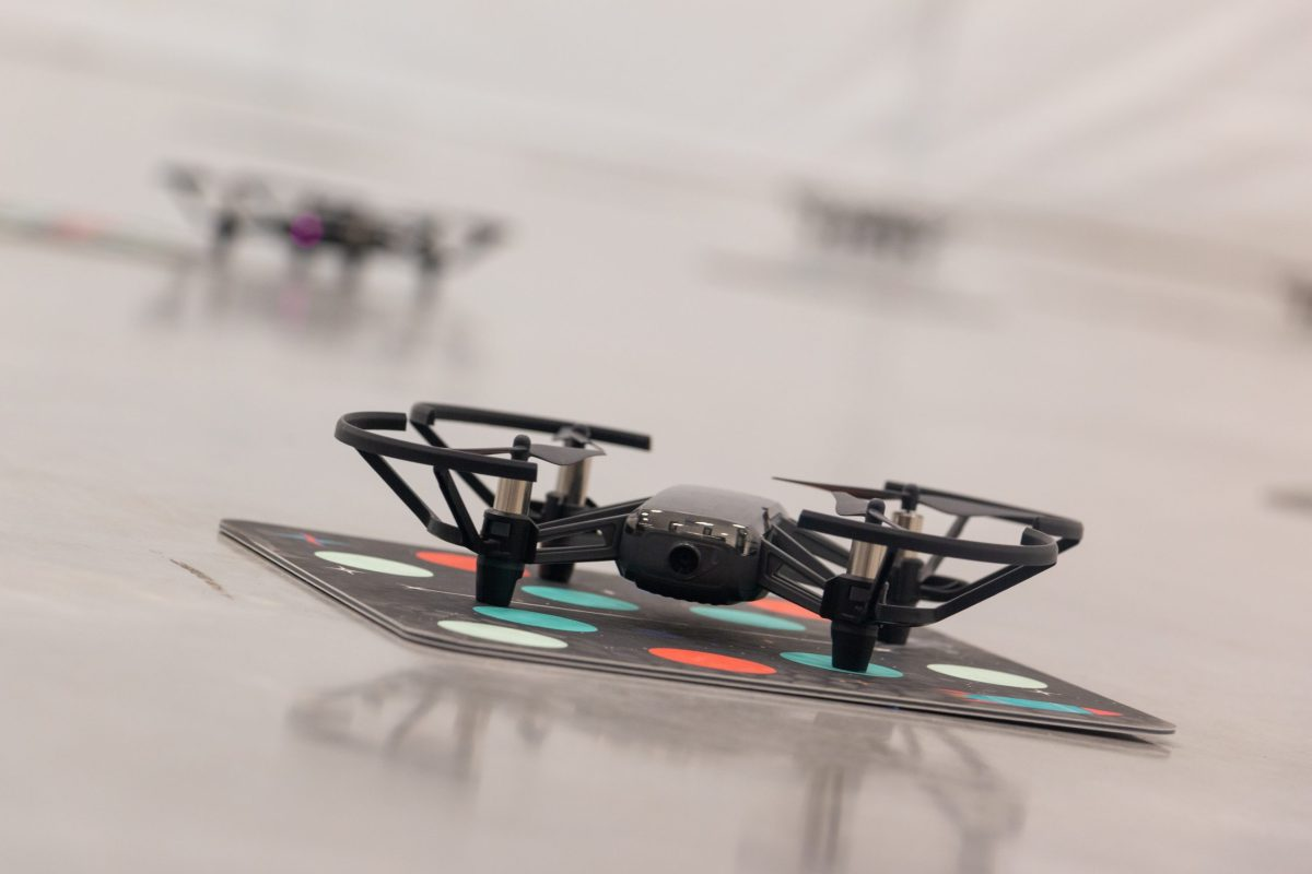 St. Mary's University on Tuesday unveiled its new Unmanned Aerial Systems Laboratory.