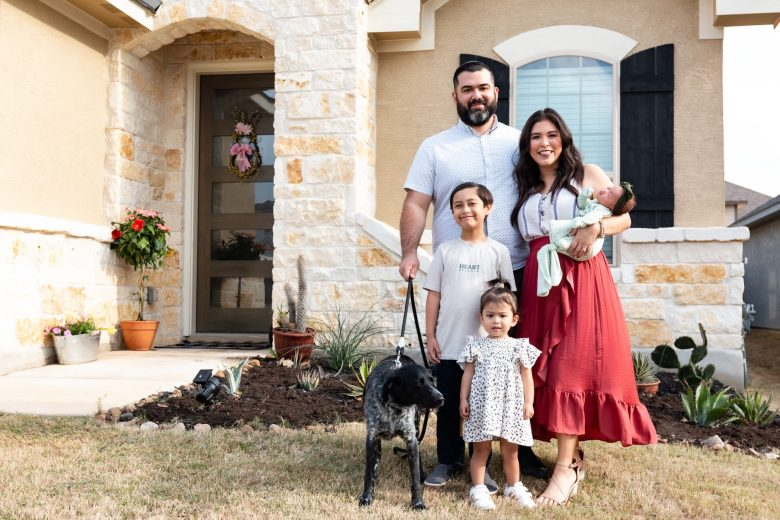 Amanda Alonzo, and Ryan Ibarra welcomed their newborn daughter, Malia, two months ago. The growing family moved to Arcadia Ridge, a master-planned development in West San Antonio in July 2020.