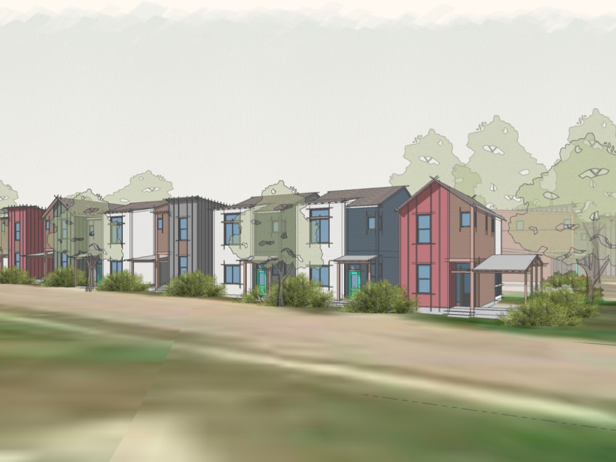A former mobile home park will be developed into 25 multi-level homes on the South Side.