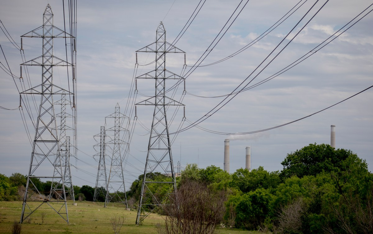 CPS Energy's Calaveras Power Station generates energy in Southeast San Antonio on Saturday. The station features a two-unit coal power plant named J.K. Spruce. The Spruce units are the largest single greenhouse gas-emitting facilities in Bexar County.
