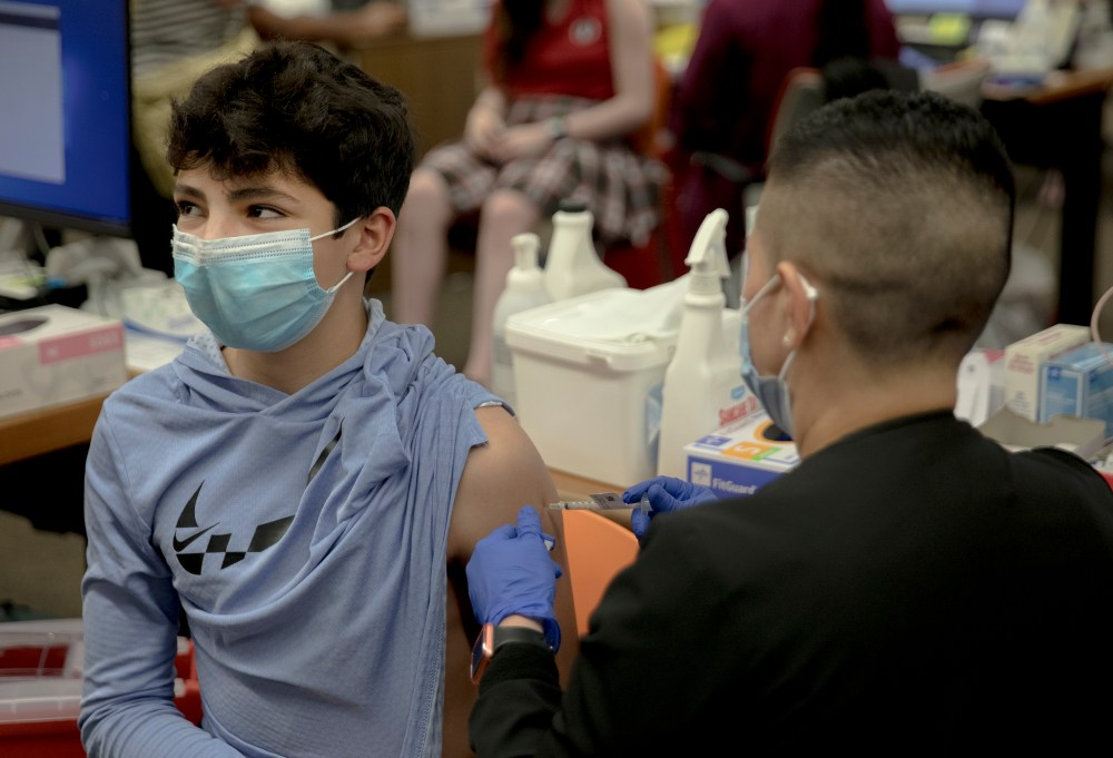 More than 1 million Bexar County residents have received first COVID-19 vaccine dose