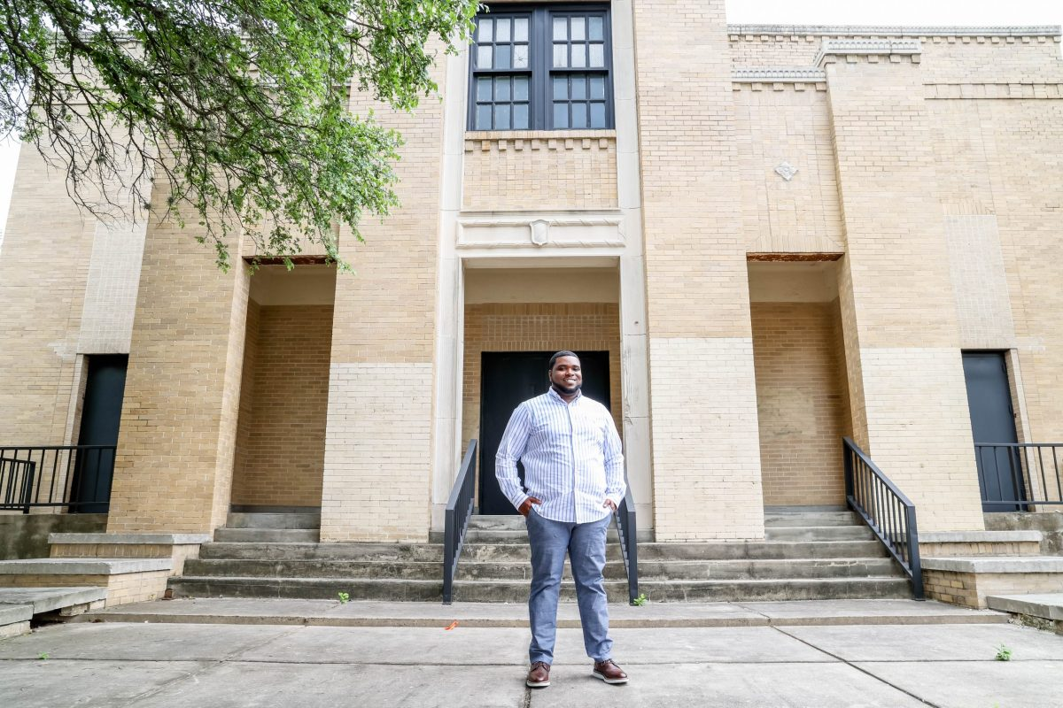 Akeem Brown is the founder of Essence Prep, the new East Side charter school, which is slated to open in August 2022, which will serve children in grades K-8.