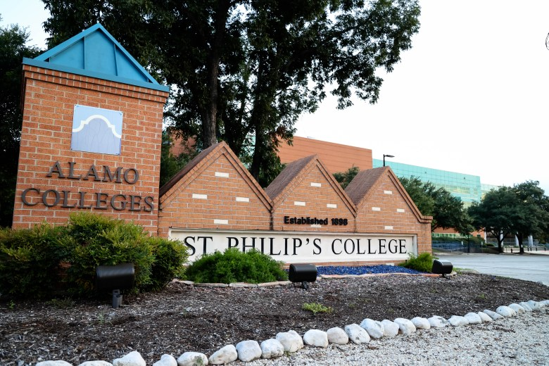 St. Phillips is nestled in the east side near Baca's home.