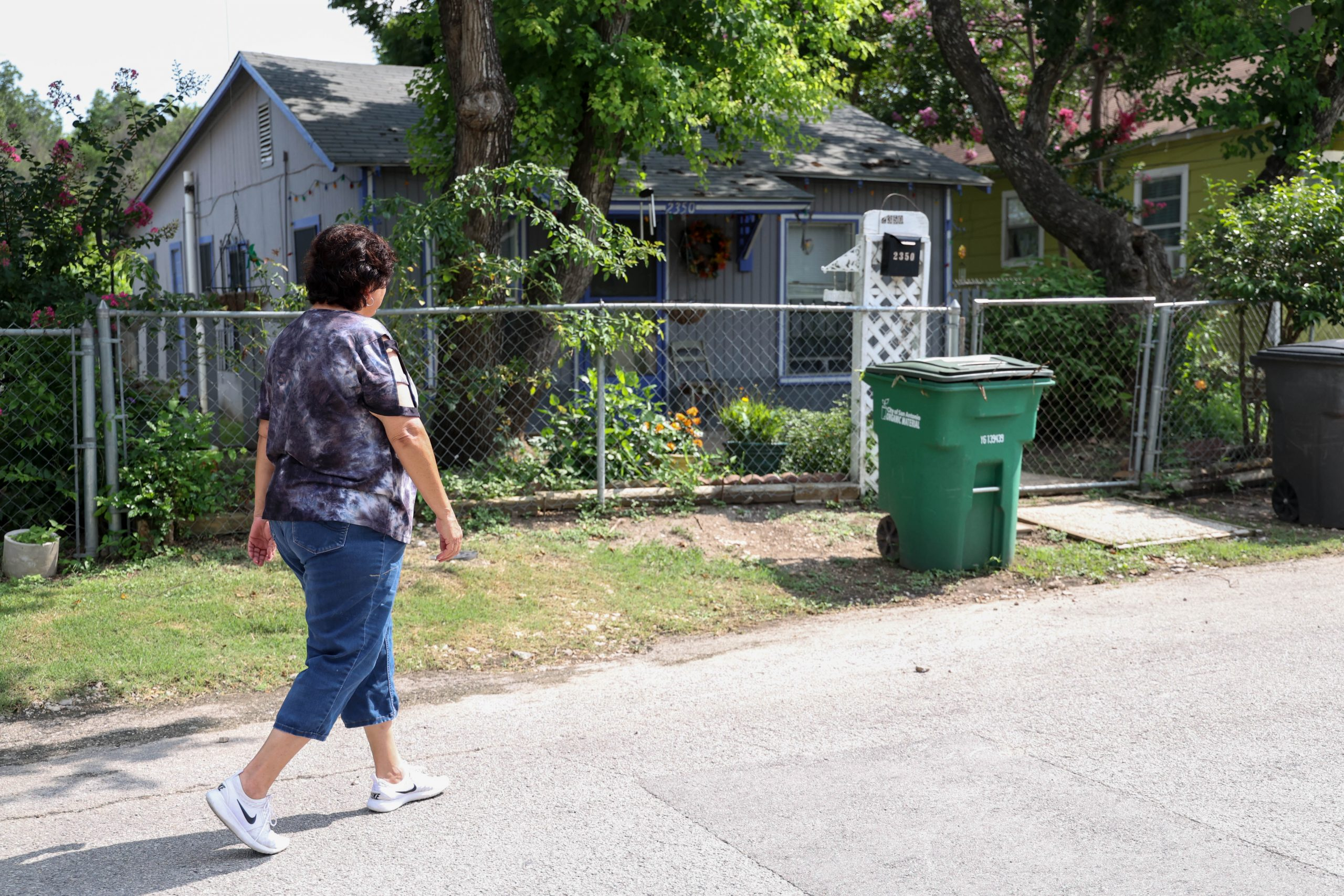 Rosie Baca still walks over to her late mother's home on the next block from her house to check on it from time to time.