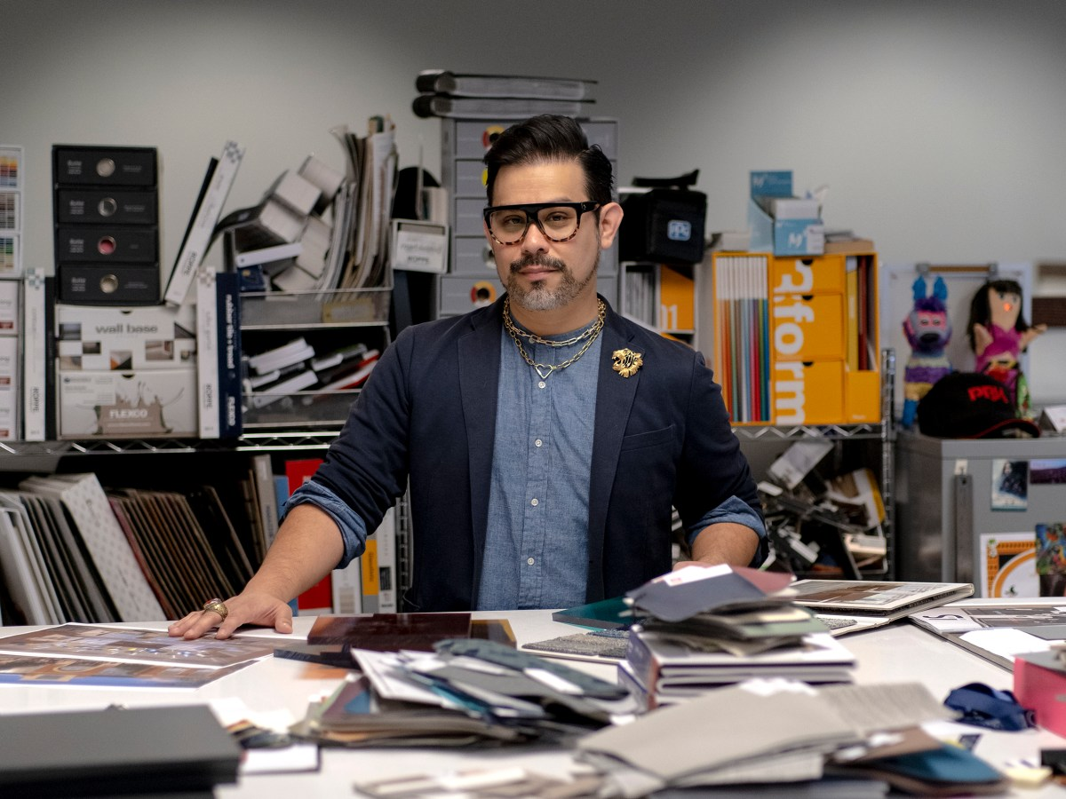 Joaquin Abrego is an interior designer at PBK Architects.