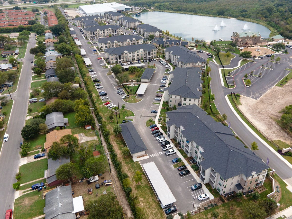 The Salado at Red Berry apartment complex is one of 22 tax exempt complexes in San Antonio and offers 330 units, some of which are set aside for households making less than the area median income.