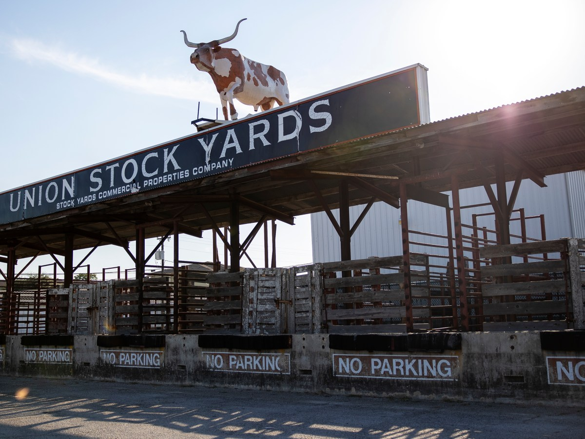 The Union Stock Yards, a 30-acre former cattle market west of downtown, is for sale.
