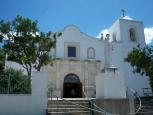 Photo of St. Anthony de Padua Catholic Church in San Antonio, Texas.