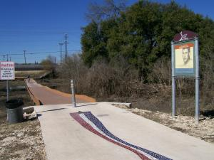 Photo of Morningstar Boardwalk near Lady Bird Johnson Park Trailhead.