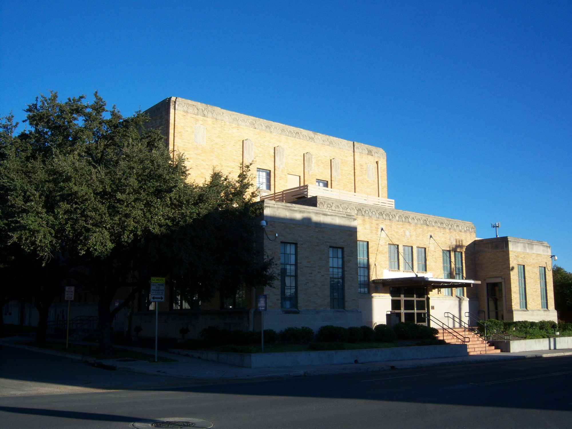 Photo of the Carver Community Cultural Center's exterior.