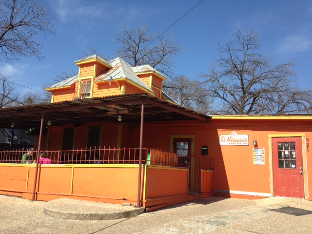 A photo of El Milagrito Cafe in San Antonio, Texas.