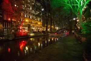 Photo of the San Antonio River Walk by Fred Gonzales