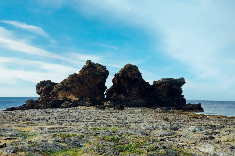 蘭嶼自由行-東清秘境、貝殼砂