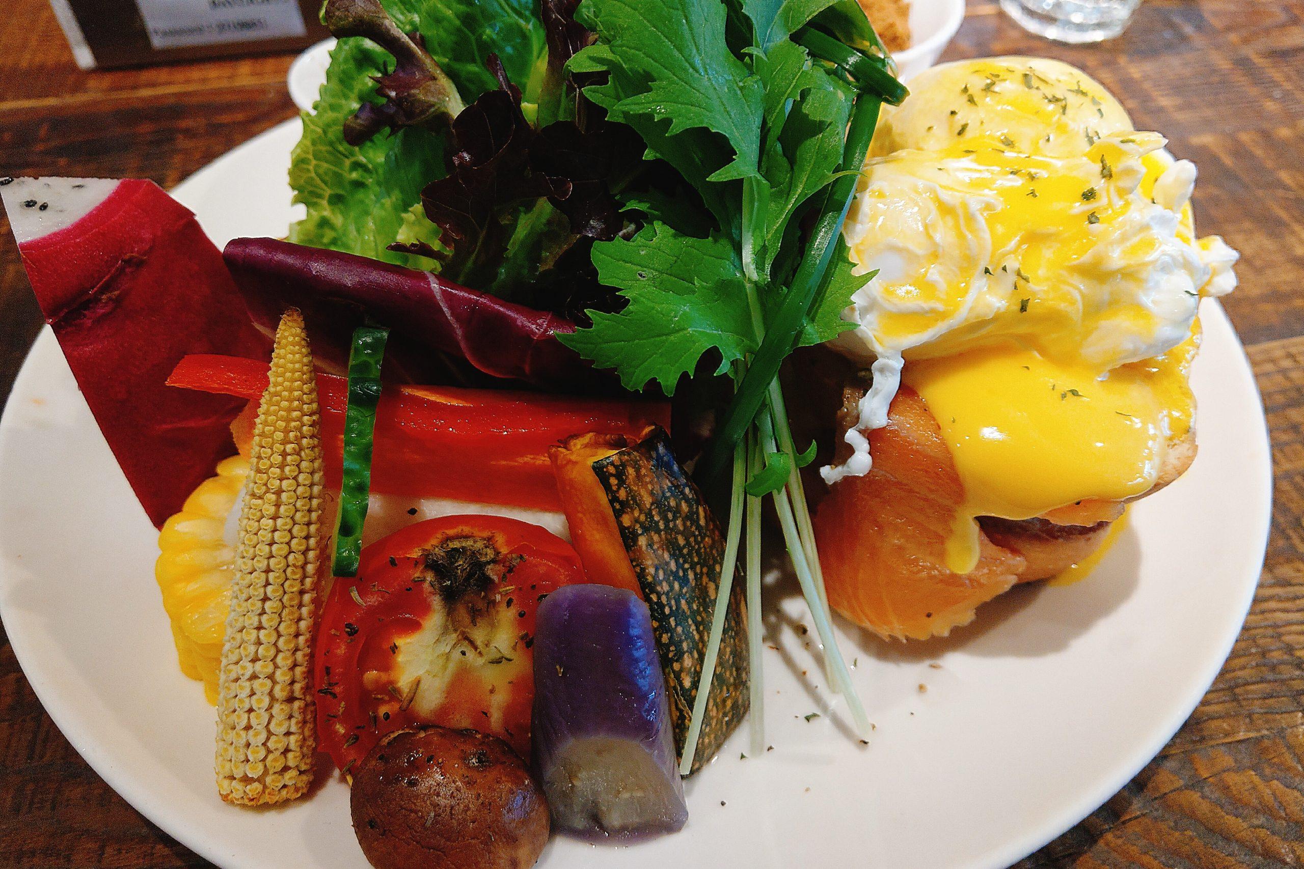 【台北早午餐】Daylight光合箱子南京店,充滿各式蔬果的健康早午餐