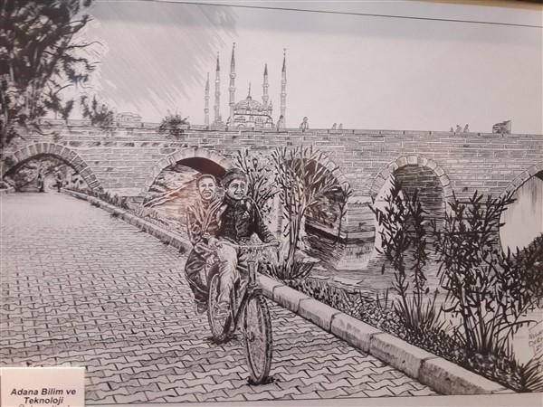 Necati Derya'dan Çizgilerle Adana