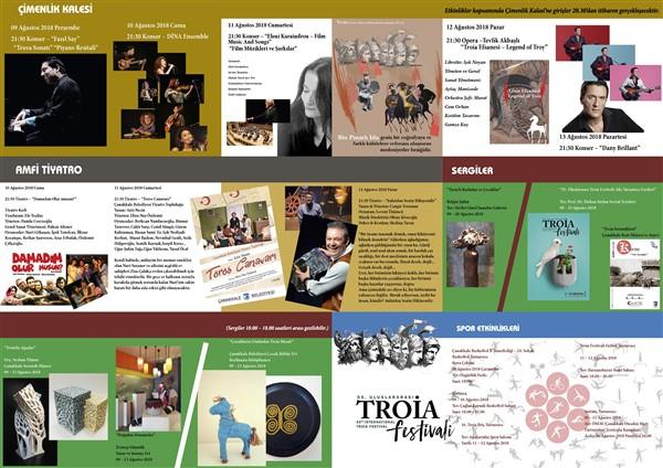 Çanakkale Troia Festivali Başlıyor