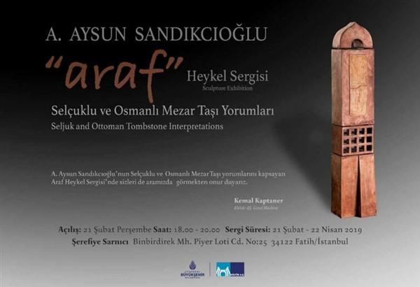 """A. Aysun Sandıkcıoğlu'nun """"araf""""ı Şerefiye Sarnıcı'nda"""