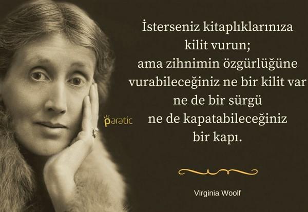 """Virginia Wolf der ki; """"Kadın eğitim almalıdır.''"""