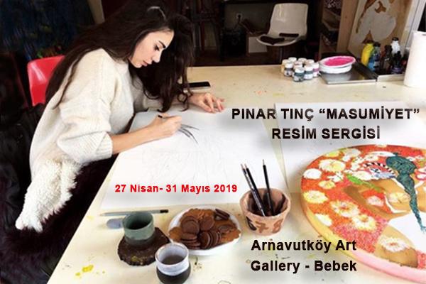 "Pınar Tınç'ın ""Masumiyet"" Resim Sergisi Art Gallery'de"