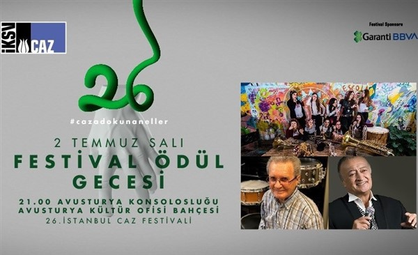 26'ncı İstanbul Caz Festivali 2019 başlıyor