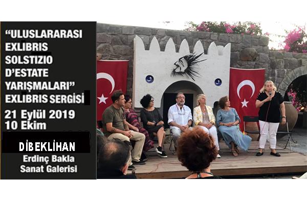 Exlibris Yarışmaları Sergisi Türkiye'de ilk defa açıldı