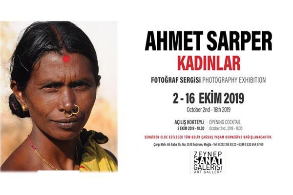 """Ahmet Sarper'in """"Kadınlar"""" Fotoğraf Sergisi Bodrum'da"""