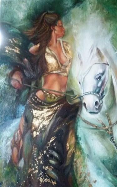 at ve kadın
