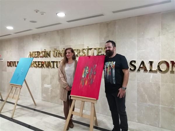 Ressam Safter Çevirgen'in Mersin Sergisi beğenildi