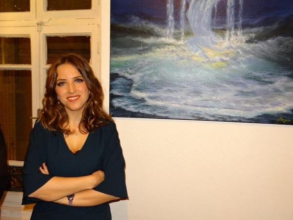 Meryem Çetinkaya'nın Sergisi Yeni Sanat'ta açıldı
