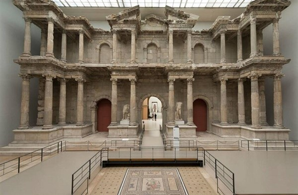 Sanal Ortamda Geziyoruz; Pergamon Müzesi
