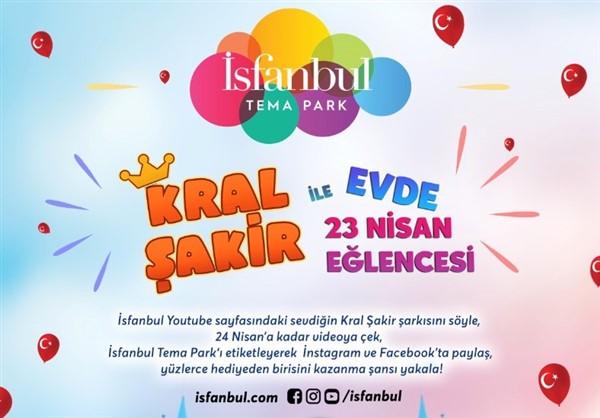 İsfanbul Tema Park'tan 23 Nisan'a özel sürpriz