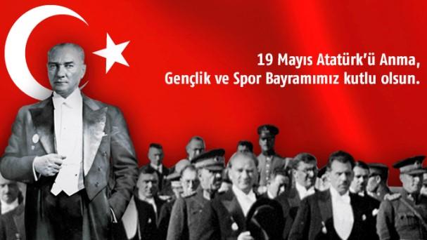 19 Mayıs Gençlik ve Spor Bayramının 101. Yılı Kutlu Olsun