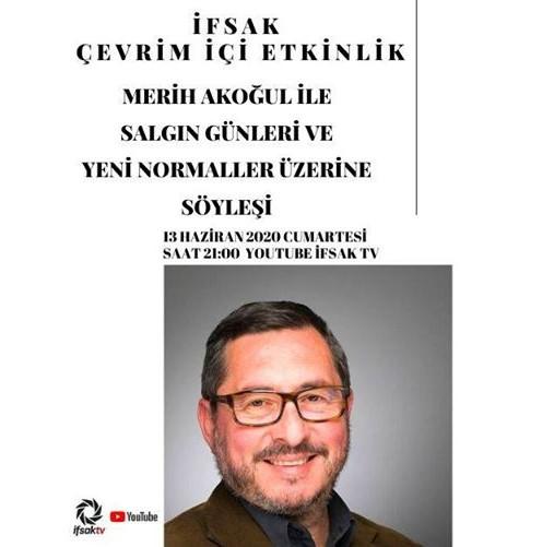İFSAK'ta Merih Akoğul ile Çevrim İçi Etkinlik