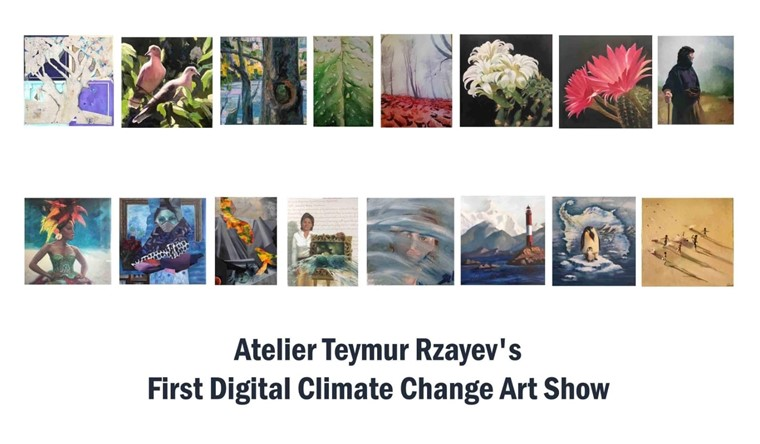 Atelier Teymur Rzayev'in Sanat Gösterisi