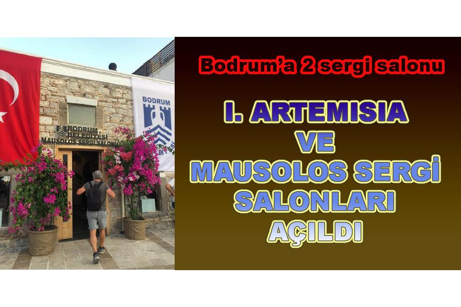Bodrum'a 2 Yeni Sergi Salonu daha