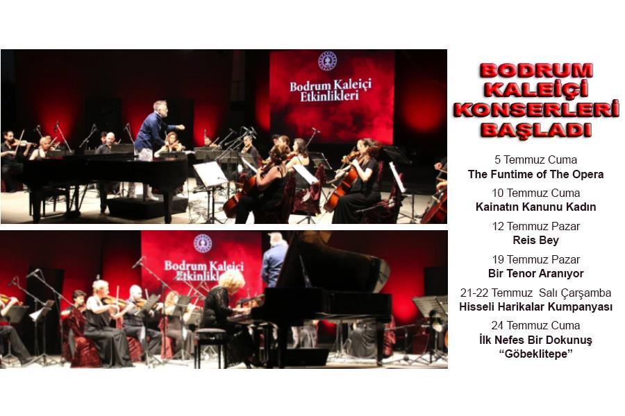 Bodrum Kaleiçi Konserleri Başladı