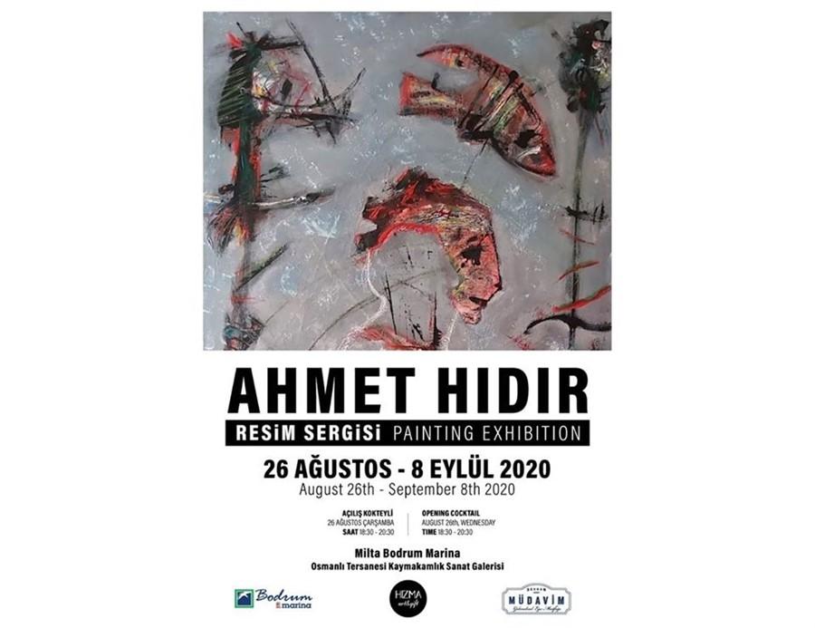 Ahmet Hıdır Resim Sergisi Bodrum'da Açıldı