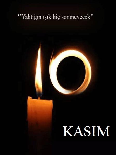 Atatürk'ü özlem ve saygı ile anıyoruz.