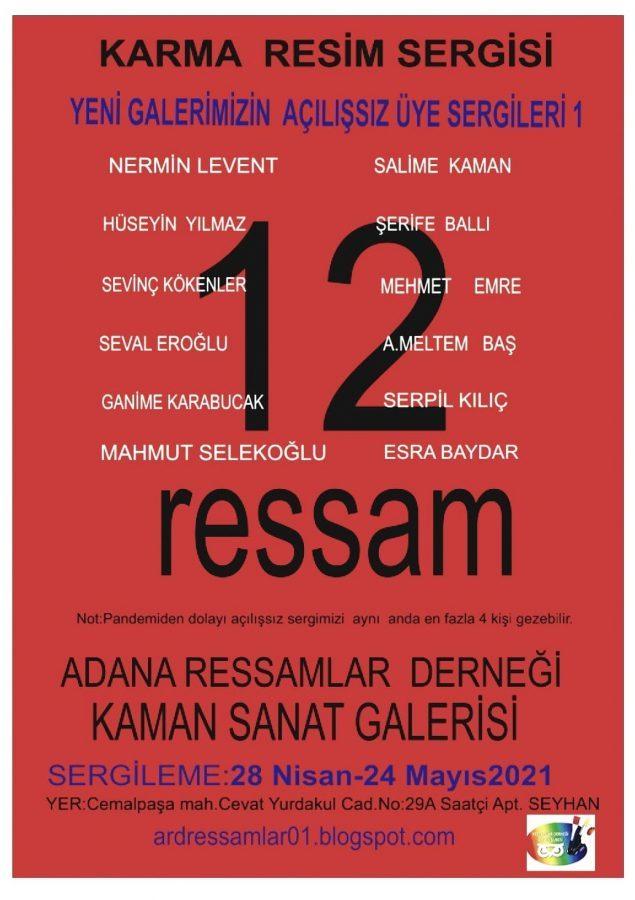 12 Ressam'dan Karma Sergi