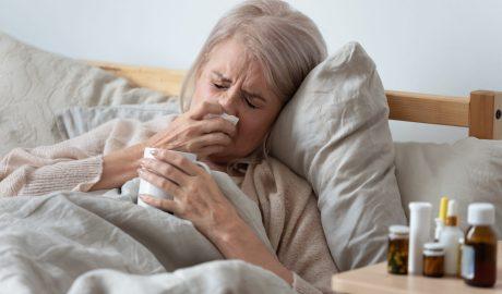 65,7% mai puţine infecţii respiratorii în ultima săptămână din februarie  faţă de aceeaşi săptămână 2020
