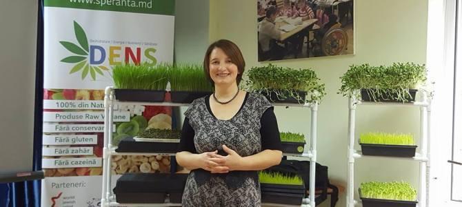 """Lucia Gavriliță, consultant în nutriție vie: """"Îmi doresc din inimă ca oamenii să devină mai conștienți și mai responsabili pentru sănătatea lor"""""""