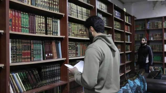 Librería-bajo-tierra-en-Siria Ignacio Mardones