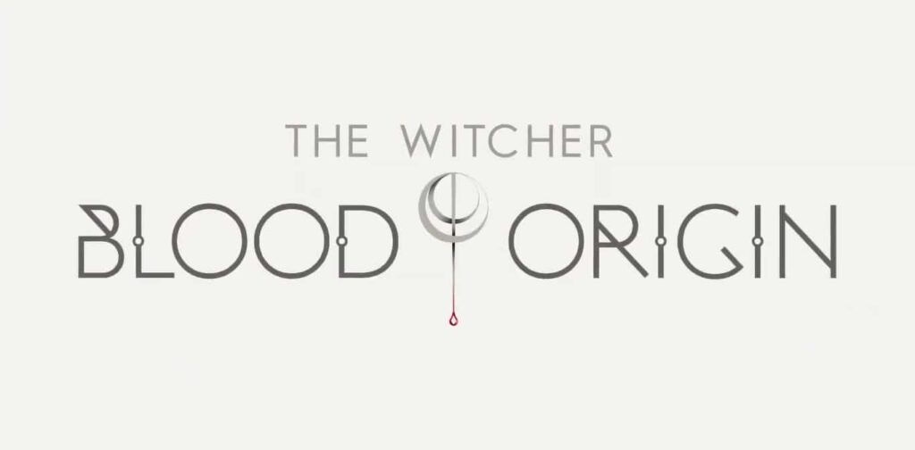 Logo oficial de The Witcher: Blood Origin da Netflix