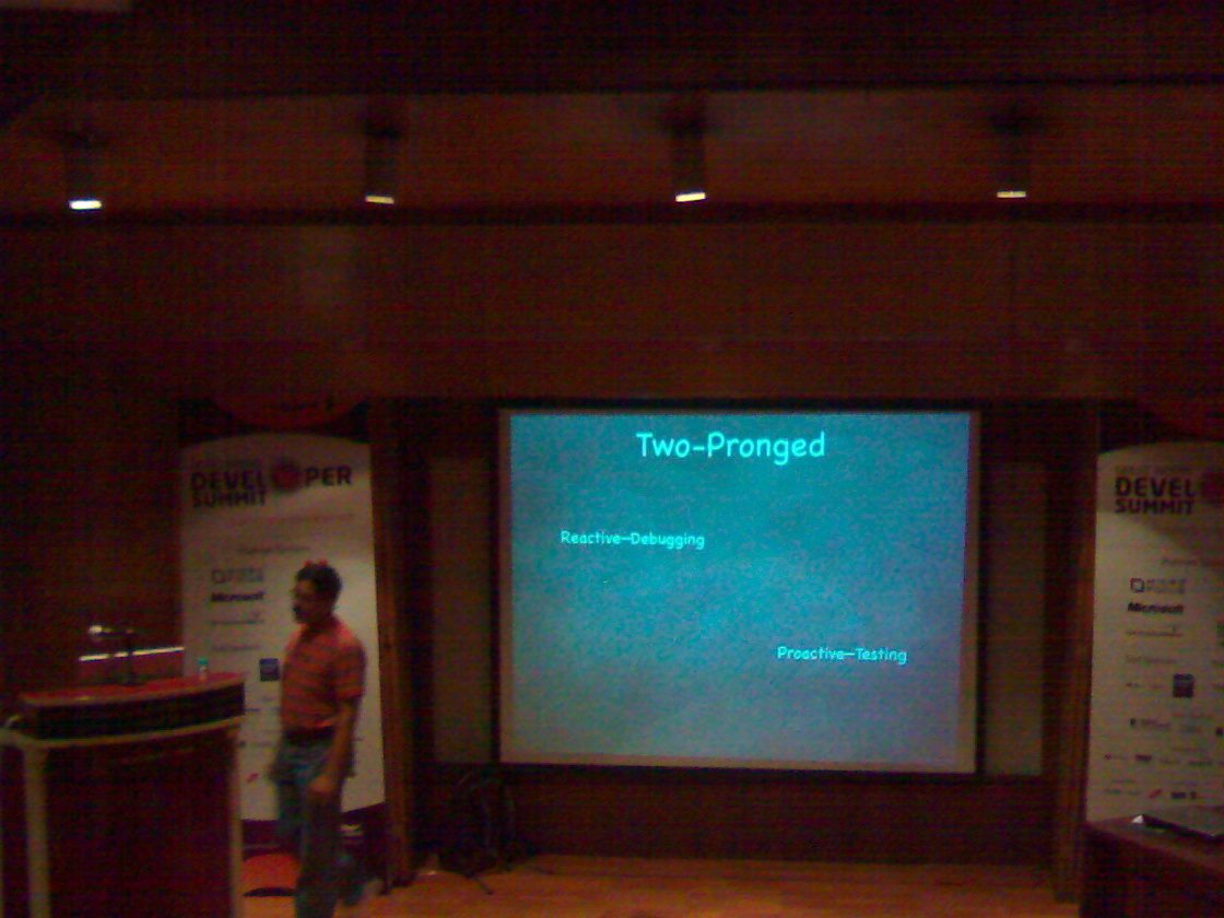 Venkat's Ajax debugging talk