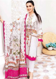 Gul Ahmed CL1037 Basic Lawn