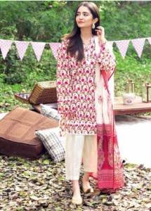 Gul Ahmed CL1076A Basic Lawn