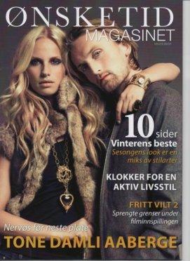 Cover of Ønskelist magazine