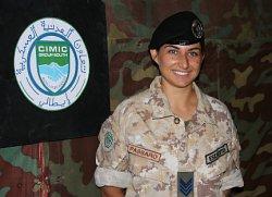 Il Caporal Maggiore Francesca Passaro