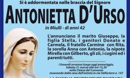 Antonietta D'Urso